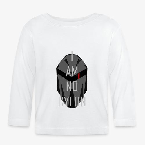 I am not a Cylon - Langarmet baby-T-skjorte