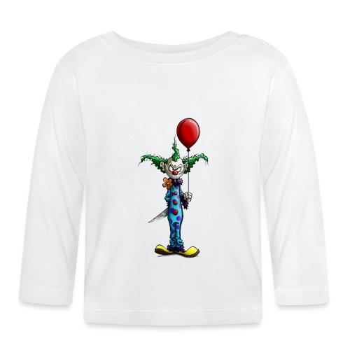 klaun tee - Långärmad T-shirt baby