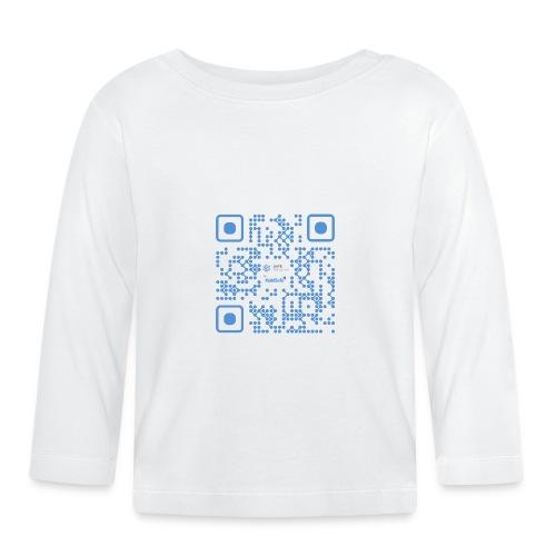 QR Maidsafe.net - Baby Long Sleeve T-Shirt