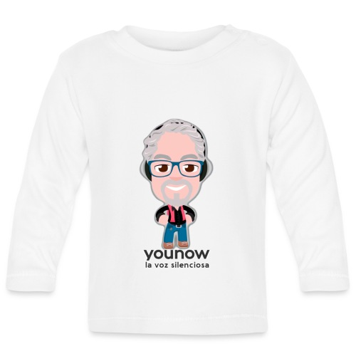 Younow - La voz silenciosa - Camiseta manga larga bebé