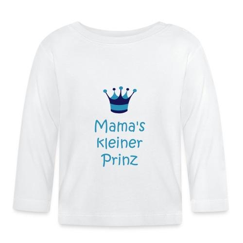 Mama's kleiner Prinz - Baby Langarmshirt