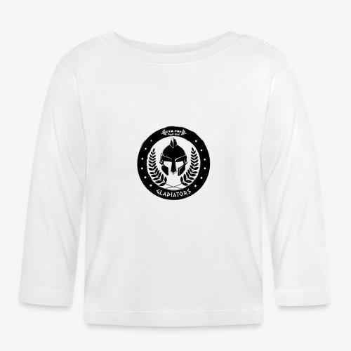 Gym Pur Gladiators Logo - Baby Long Sleeve T-Shirt
