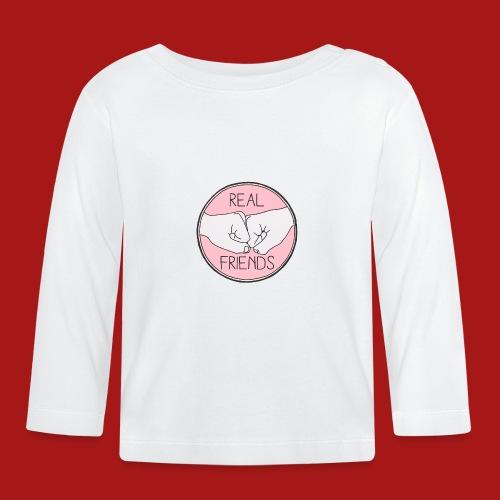 Real Friends - Langærmet babyshirt