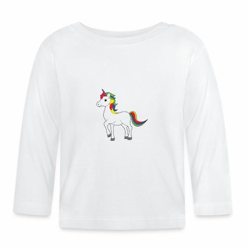 Einhorn - Baby Langarmshirt