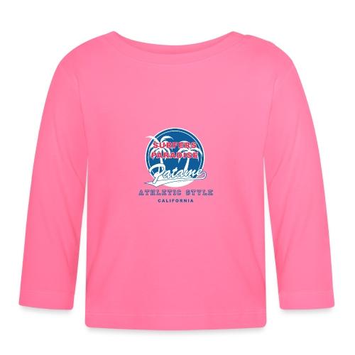 Surfers Paradise Athletic Blue - Baby Langarmshirt
