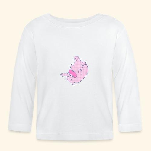 Elefant.PNG - Baby Langarmshirt