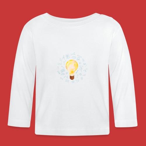 5 IDEEN Glühbirne 2018 - Baby Langarmshirt