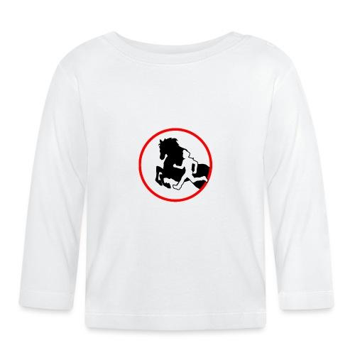 Horse Agility Logo - Baby Langarmshirt