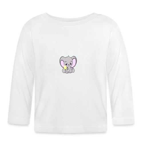 Baby olifantje met rammelaar - T-shirt