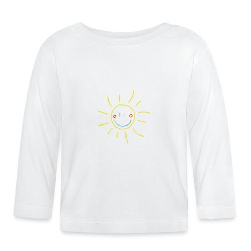 Sun Child s Drawing Pixellamb - Baby Langarmshirt