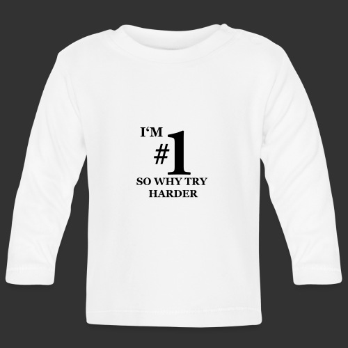 T-shirt, I'm #1 - Långärmad T-shirt baby