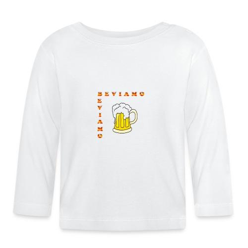 BEVIAMO - Maglietta a manica lunga per bambini