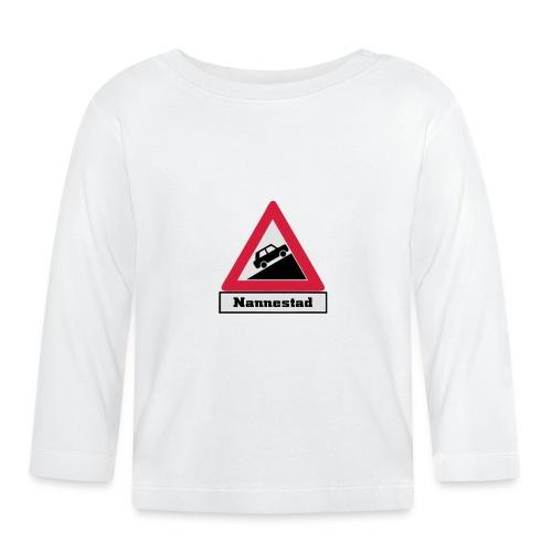 brattv nannestad a png - Langarmet baby-T-skjorte