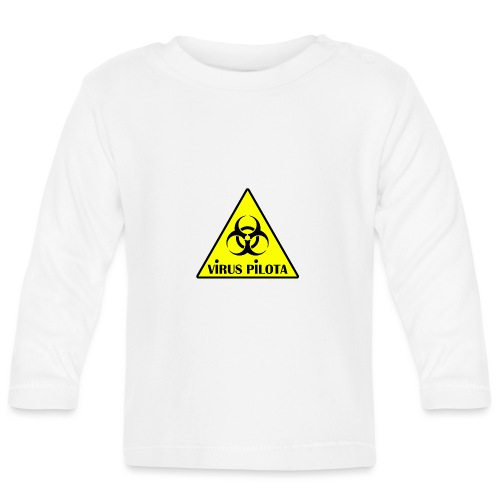 viruspelote png - T-shirt manches longues Bébé