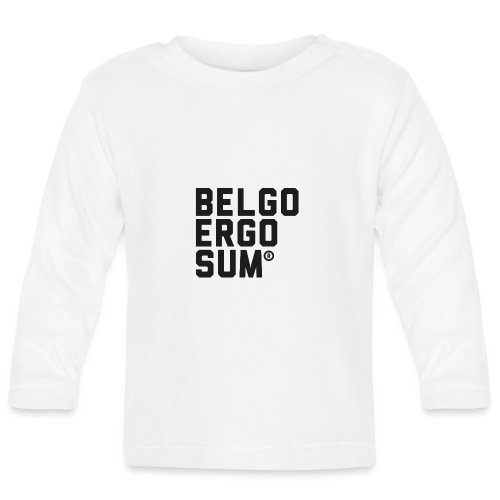 Belgo Ergo Sum - Baby Long Sleeve T-Shirt