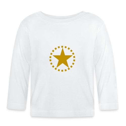pixknapp png - Långärmad T-shirt baby