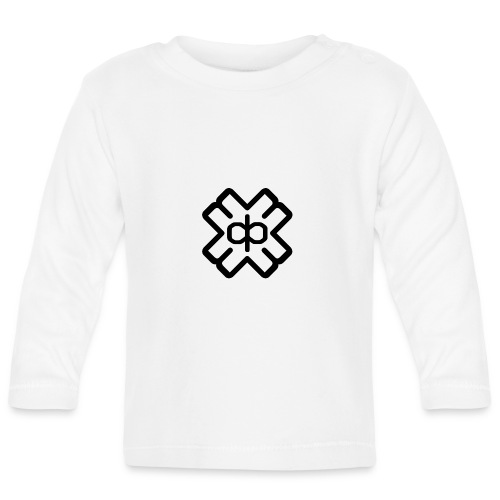 d3ep logo black png - Baby Long Sleeve T-Shirt