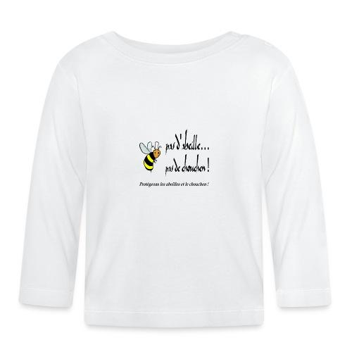 Pas d'abeille, pas de chouchen - T-shirt manches longues Bébé