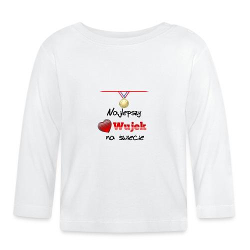 nadruk_rodzinne_03 - Koszulka niemowlęca z długim rękawem