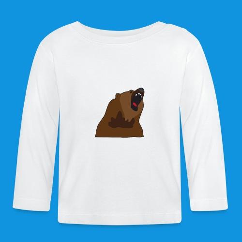 Growling Bear - Baby Long Sleeve T-Shirt