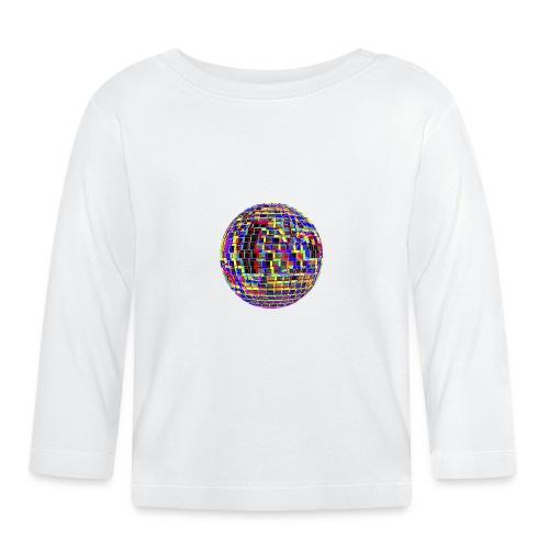 Boule à facettes psychédélique - T-shirt manches longues Bébé