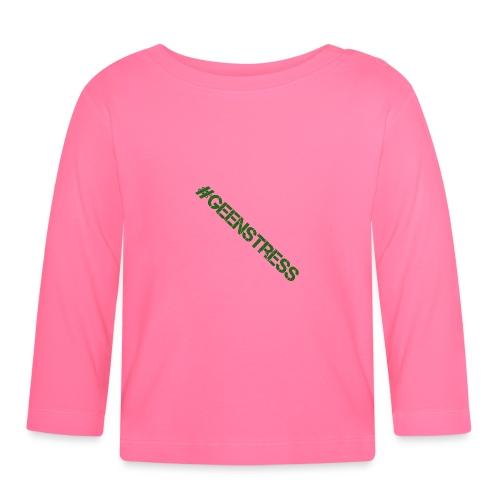 geen stress gif - T-shirt