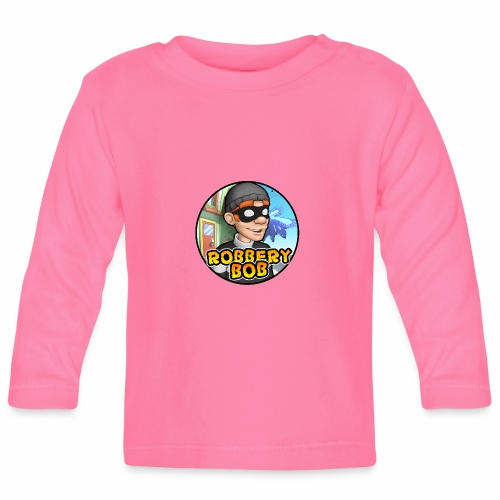 Robbery Bob Button - Baby Long Sleeve T-Shirt