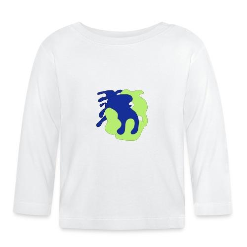 Macchie_di_colore-ai - Maglietta a manica lunga per bambini