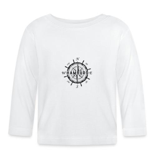 Hamburg Kompass - Baby Langarmshirt