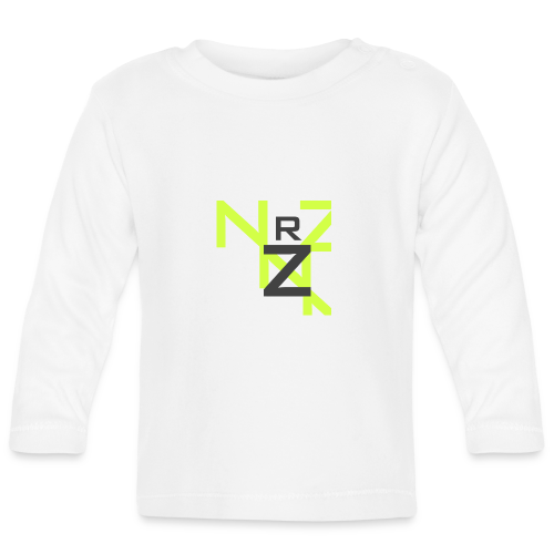 Nörthstat Group™ Clear Transparent Main Logo - Baby Long Sleeve T-Shirt