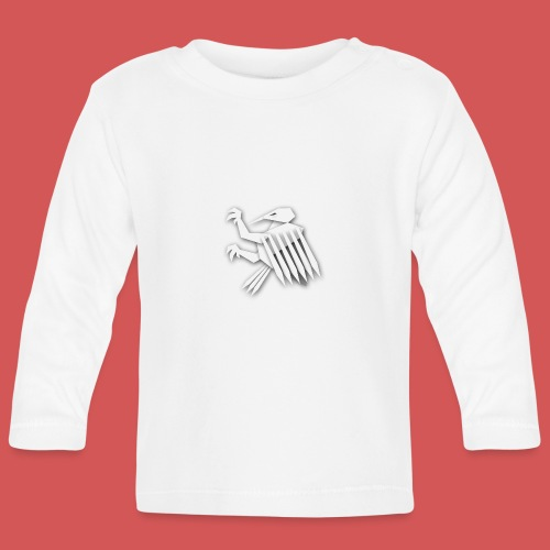 Nörthstat Group ™ White Alaeagle - Baby Long Sleeve T-Shirt