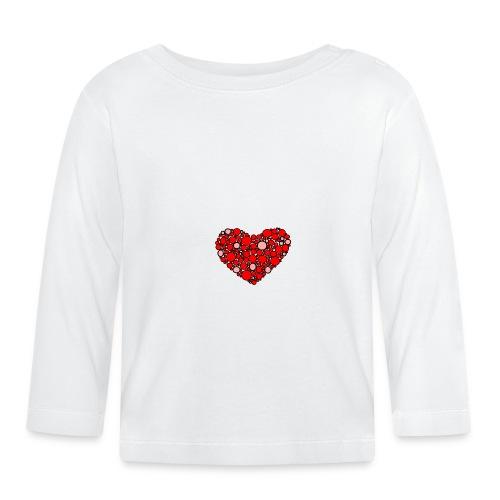 Hjertebarn - Langærmet babyshirt