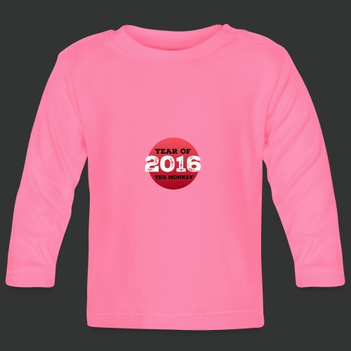 2016 year of the monkey - Baby Long Sleeve T-Shirt