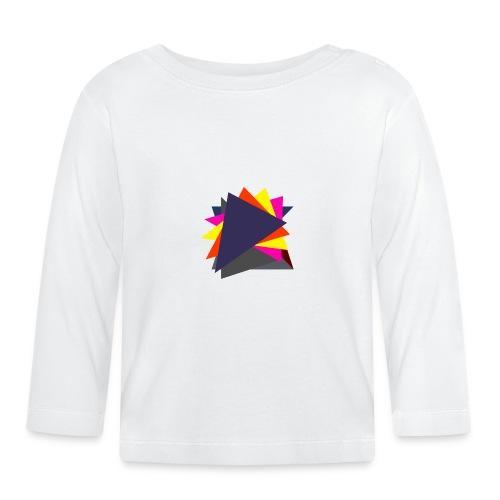 art triangle - Koszulka niemowlęca z długim rękawem