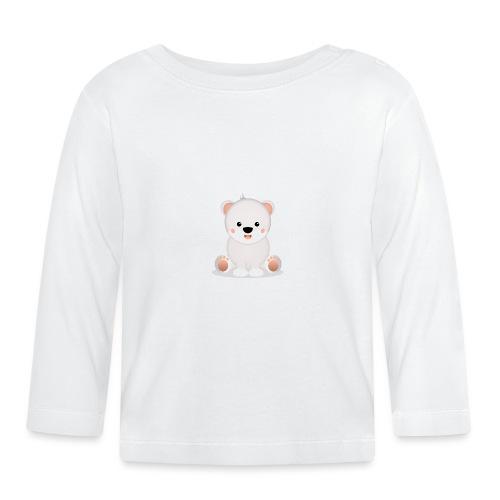 Baby Eisbär Emilia - Baby Langarmshirt