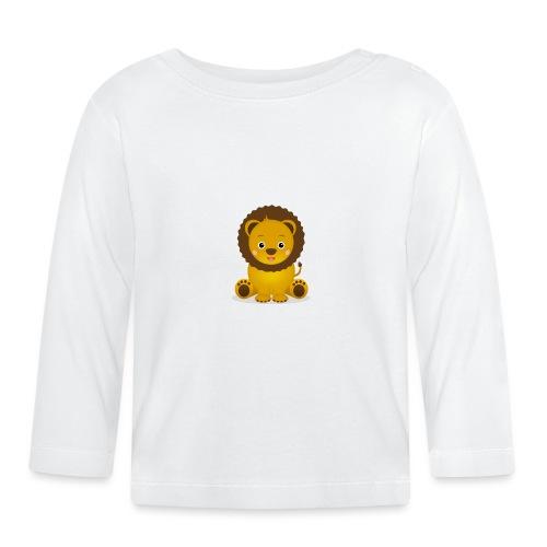 Baby Löwe Leon - Baby Langarmshirt
