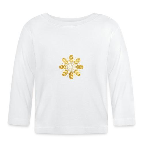 Inoue clan kamon in gold - Baby Long Sleeve T-Shirt