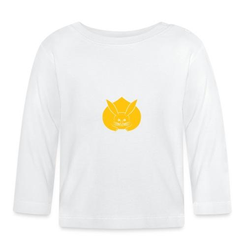 Usagi kamon japanese rabbit yellow - Baby Long Sleeve T-Shirt