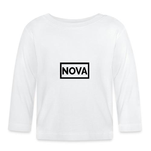 Red Nova Snapback - Baby Long Sleeve T-Shirt