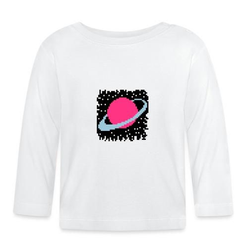 PixelArt Saturn - Baby Long Sleeve T-Shirt