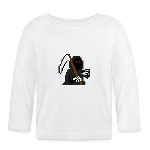 Pixelart Grim Reaper - Baby Long Sleeve T-Shirt