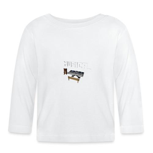 Tedy's Piano - Camiseta manga larga bebé