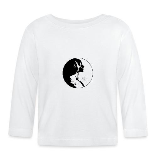 yang yin - Koszulka niemowlęca z długim rękawem
