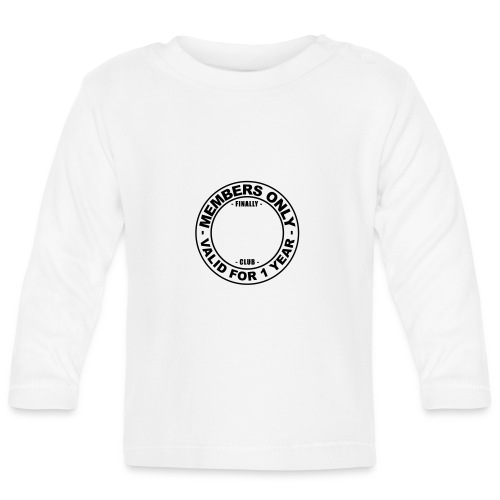 Finally XX club (template) - Baby Long Sleeve T-Shirt