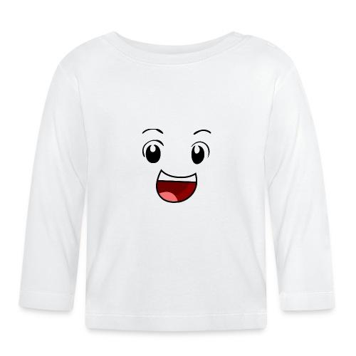 Boyga SMIL - Langarmet baby-T-skjorte