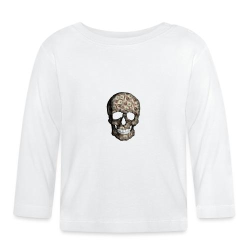 Skull Money Black - Camiseta manga larga bebé