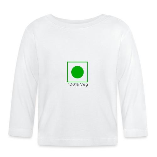 100veg-png - Långärmad T-shirt baby