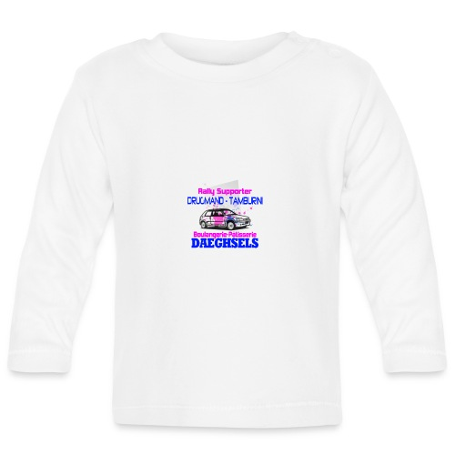 drugmand_tamburini_logo-png - T-shirt manches longues Bébé