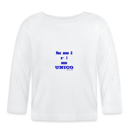 Unico #FRASIMTIME - Maglietta a manica lunga per bambini