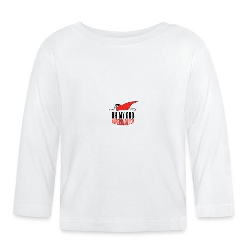ohmygod_superbadluck-png - Maglietta a manica lunga per bambini